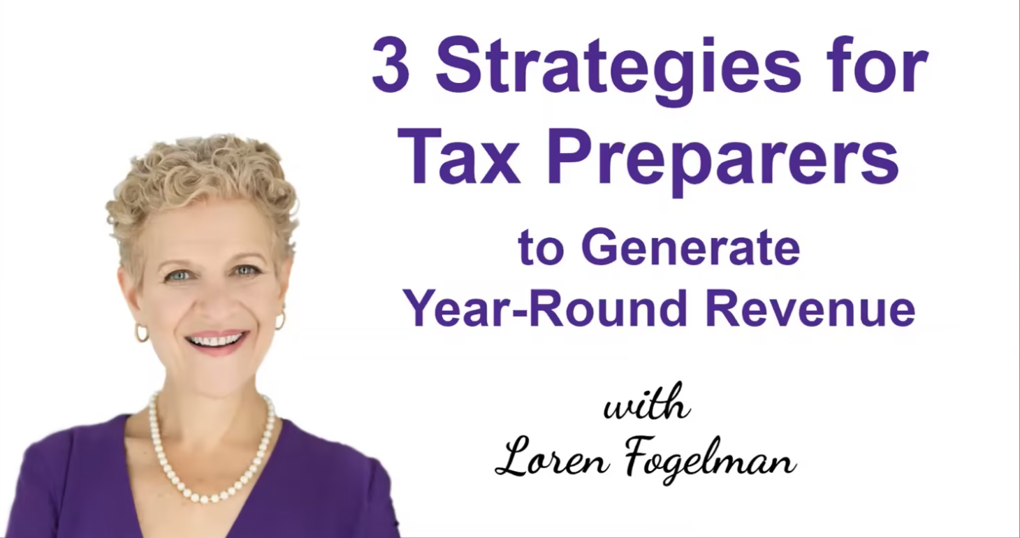 3 Strategies for Tax Preparers To Generate Year-Round Revenue